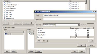 The new ContentLock component allows you to search for keywords and patterns within files being transferred.