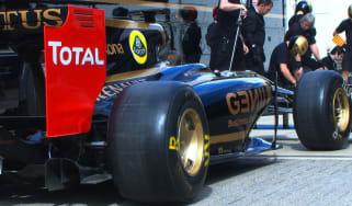 Lotus F1 pitstop