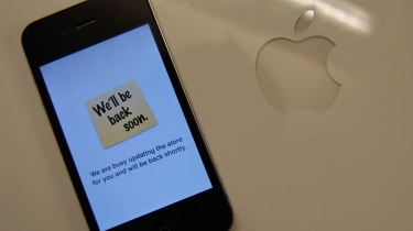 Apple Store - back soon