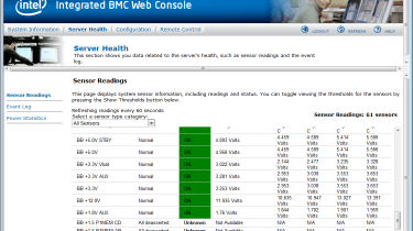 Broadberry XE5-R2216 - web console