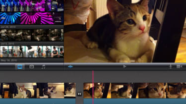 The iPad version of iMovie isn't as capable as its desktop counterpart, but it's still a surprisingly sophisticated video edi