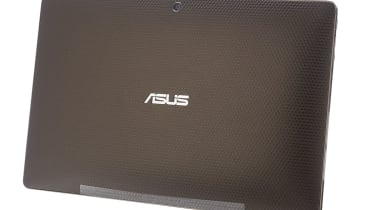 The rear of the Asus Eee Pad Transformer