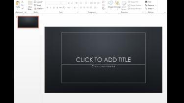Microsoft 2013 - PowerPoint