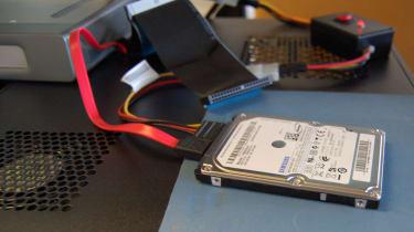 IT Pro's damaged laptop hard disk