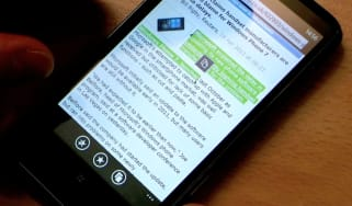 Copying text on Windows Phone 7