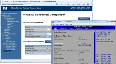 The RAC looks even better value as it provides full KVM-over-IP remote control and virtual media services.