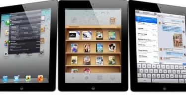 Trio of iPads