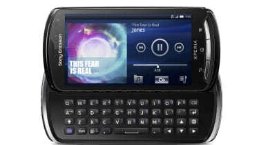 The Sony Ericsson Xperia Pro's keyboard