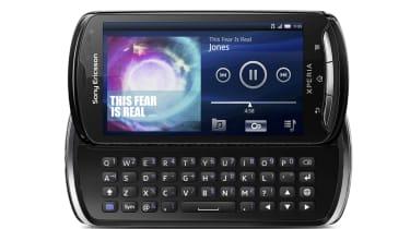 The Sony Ericsson Xperia Pro's keyboard