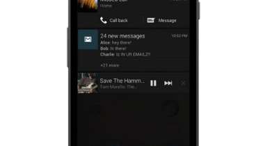 Google Android Jelly Bean - Notifications