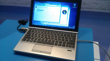 HP EliteBook 2170p - Front
