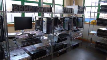 Working on servers and RAID arrays