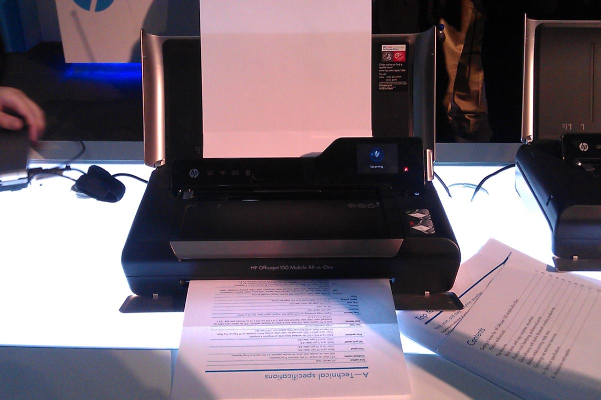 Hp Officejet 150 All In One Portable Printer Targets Business Users It Pro