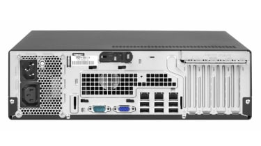 Along with dual Gigabit Ethernet ports, the server has a dedicated remote management port which can be routed to the front fo
