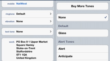 Step 3: Silencing alerts for certain contacts