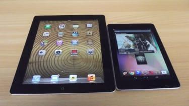 iPad 3 vs Nexus 7
