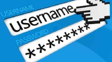 Password login page