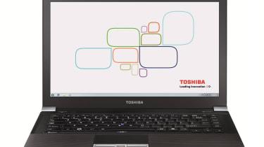 Toshiba Tecra - Front