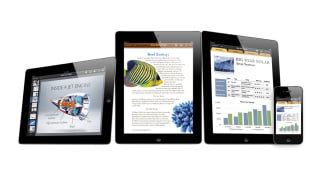 iWork apps running iOS devices