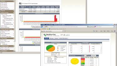 The Backup Profiler module allows you to keep an eye on all your backup servers and operations from the main console.