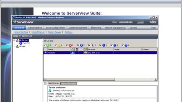 Fujitsu Primergy TX100 - ServerView Suite software