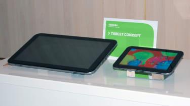 Toshiba tablet concepts