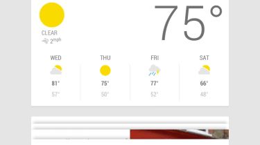 Android Jelly Bean 4.1 - Google Now