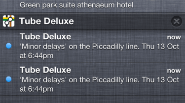 The new notifications tray in iOS 5 bears an uncanny resemblance to the one in Android.