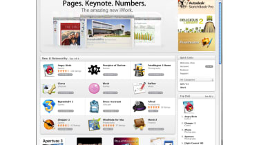 The Featured page in the Mac App Store
