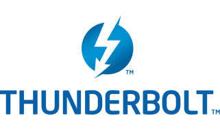 The Intel/Apple Thunderbolt logo