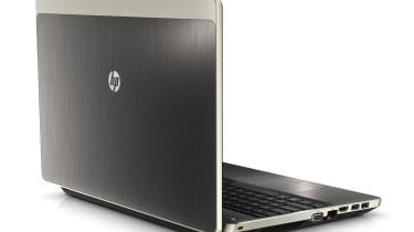 The metal lid of the HP ProBook 4530s.