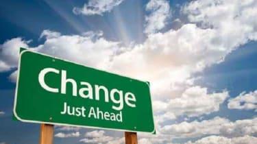 Change ahead