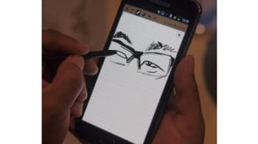 Drawing on the Samsung Galaxy Note