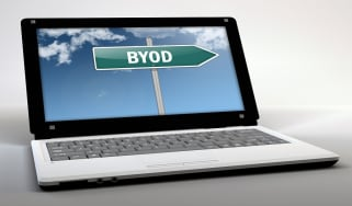 BYOD on a laptop