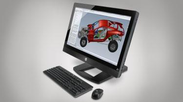 HP Z1 Workstation - Front