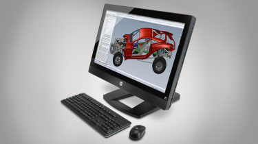 HP Z1 Workstation - Front