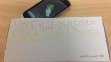 Huawei Ascend G 300 - Front