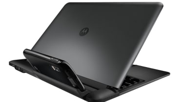 The rear of the Motorola Atrix Lapdock