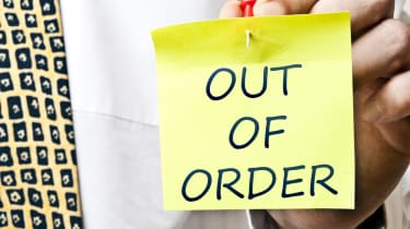 out of order post it note