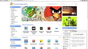 If you're used to the Android Market or the iTunes App Store then the Chrome Web Store will come as a surprise – the 'apps' a