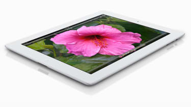 Apple new iPad - birdseye