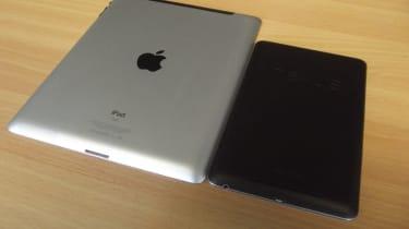 iPad vs Nexus - Back