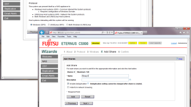 Fujitsu CS800 - Installation wizard