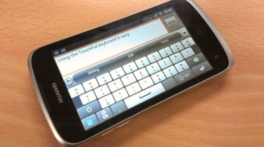 Huawei Ascend G300 - TouchPal keyboard