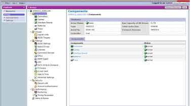 All critical hardware components are monitored and you can be alerted by email of any failures.