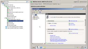Your first task is to create a XenServer VM, install a Windows OS on it and load the XenServer tools.