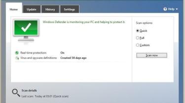 Windows 8 - Defender