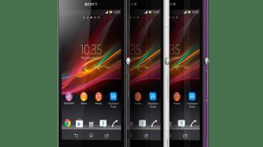 Sony Xperia Z - front