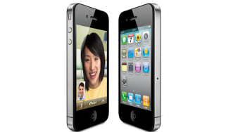 The Apple iPhone 4 running iOS 4