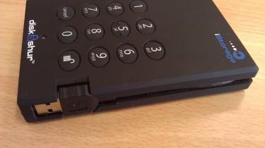 iStorage diskAshur 3.0 - Cable enclosure